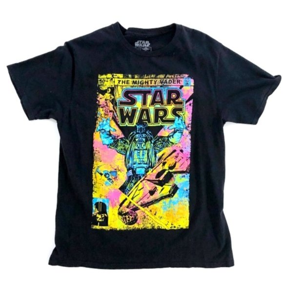 STAR WARS Might Vader Graphic T-Shirt S/M